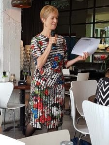 Christine Deutsche presenting to Inner West Referrals group in Sydney