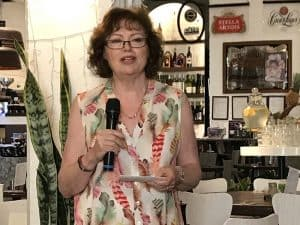 Heather Mead Interior Designer networking presentation